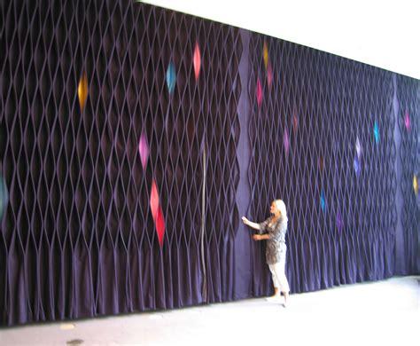 Rideau Feutre by Kyyr 246 Quinn Designer Textile Au Service Des Belles