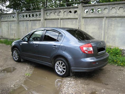 2008 Suzuki Sx4 Problems 2008 Suzuki Sx4 Sedan Photos 1 6 Gasoline Ff Automatic
