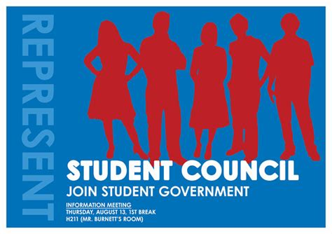 student council poster templates school election poster template www imgkid the