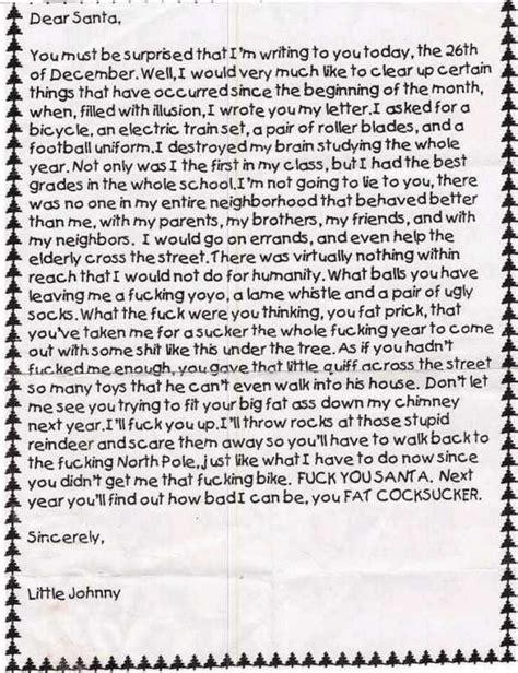 Letter Johnny Johnny S Letter To Santa Jokes Etc Nigeria