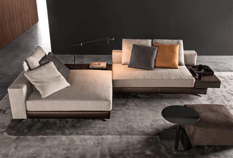 Minotti Sectional Sofa by White By Minotti Design Rodolfo Dordoni