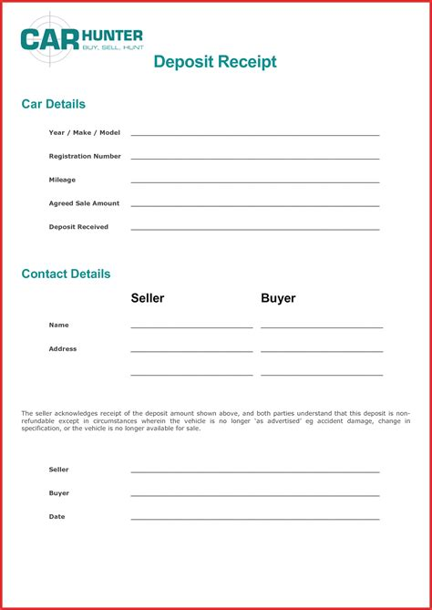 earnest money deposit agreement template earnest money deposit agreement template 28 images 28