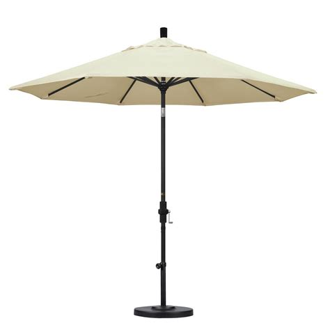 Tilting Patio Umbrella California Umbrella 9 Ft Aluminum Collar Tilt Patio