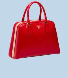 Lily Bloom Purse Coach Red Patent Leather Handbag