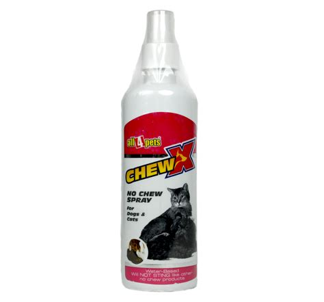 no chew spray for dogs chew x spray for dogs cats 200 ml dogspot pet supply store