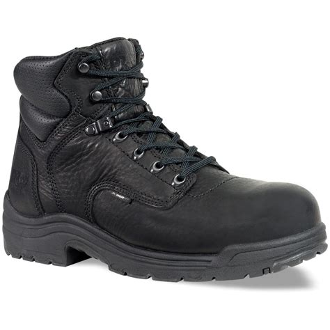 s timberland 174 pro 174 6 quot titan 174 soft toe boots black
