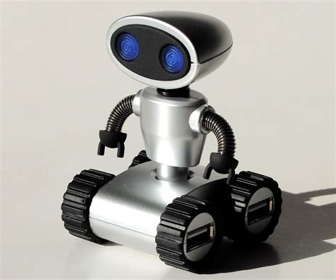 Usb Hub Robot Adapter Adapter Robot Usb Hub 4 Port Hub Prsn robot usb hub dudeiwantthat