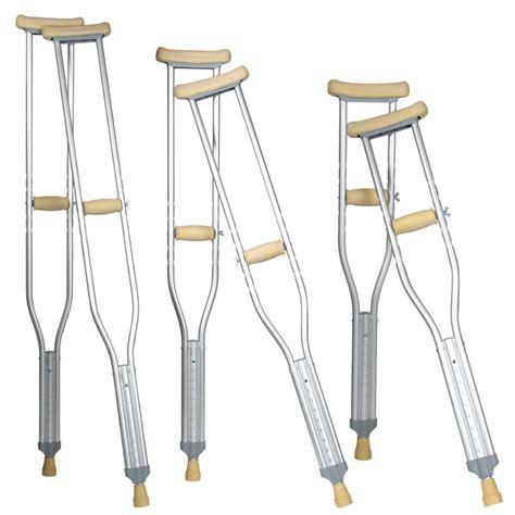 Tongkat Ketiak Crutch Kruk Murah S M L aluminium axila crutch toko alat kesehatan