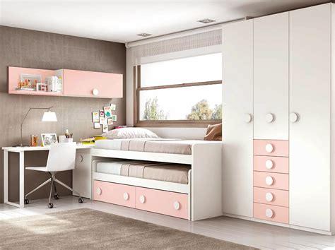 Beau Chambres A Coucher Conforama #7: chambre-fille-ado-composition-l003-avec-lit-gigogne-glicerio.jpg