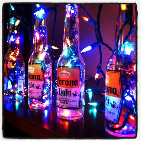 themed party lights reuse old beer bottles for decoration great party decor