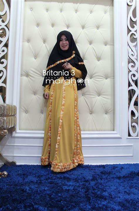Baju Wanita Muslim Gamis Basic Busui Ft Gamis Wanita Spandek britania hitam gold baju muslim gamis modern