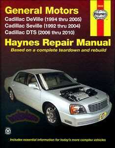 small engine maintenance and repair 1996 cadillac seville engine control shop manual cadillac service repair haynes book chilton deville dts seville sts ebay