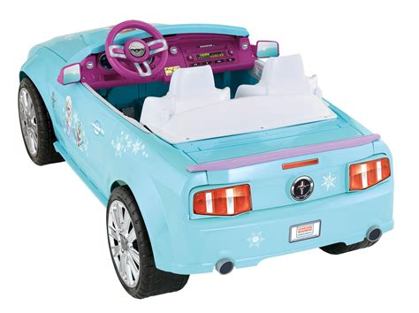 frozen mustang amazon com power wheels disney frozen ford mustang toys