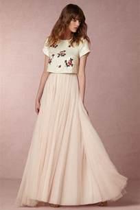 25 whimsical beautiful bohemian wedding dresses deer pearl flowers