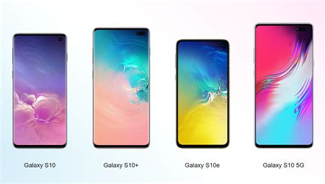 Samsung Galaxy S10 Models by Color Options For Samsung Galaxy S10 Family