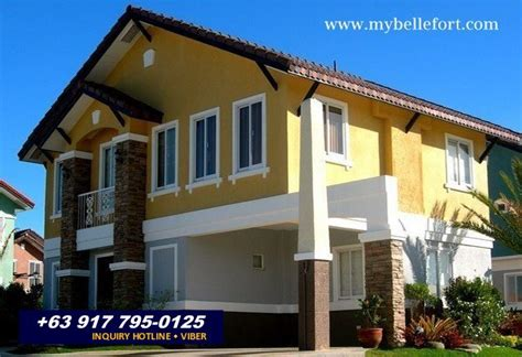 bellefort estates vivienne house for sale in daang hari philippines