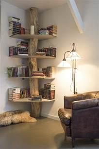 Exceptionnel Etagere Murale Pour Salon #2: Bibliothèque-conforama-en-bois-clair-etagere-murale-dans-le-salon-etagere-d-angle.jpg