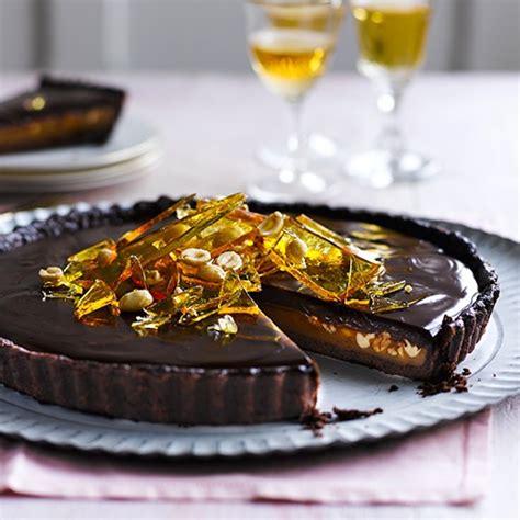 caramel peanut chocolate tart chocolate tart recipe