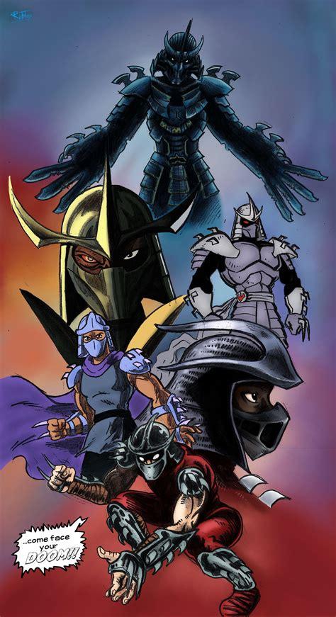 tribute   shredder teenage mutant ninja turtles