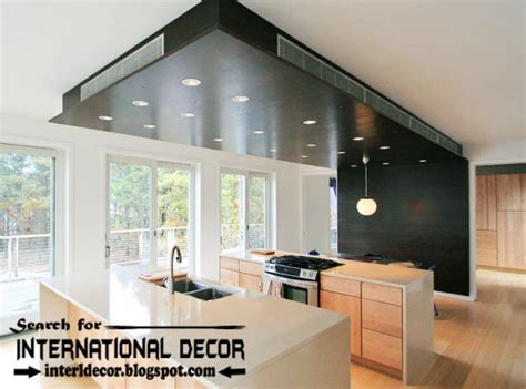 Kitchen Ceiling Design by Largest Album Of Modern Kitchen Ceiling Designs Ideas Tiles