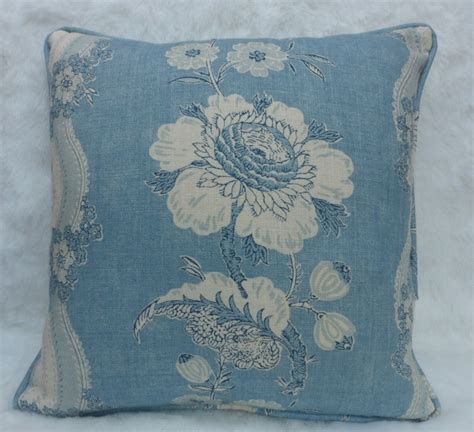 colefax and fowler upholstery fabrics colefax and fowler fabric caldbeck cushion cover blue