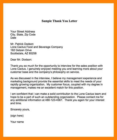 thank you letter after sales position thank you letter after sle free 28 images sle thank