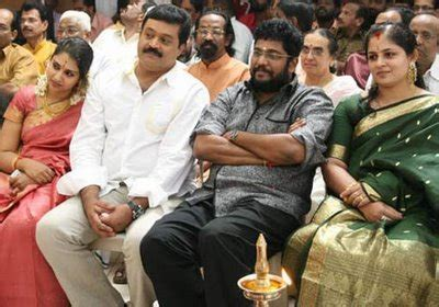 actor suresh gopi wedding and family pictures