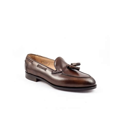 oak loafers edward green belgravia loafer in oak antique leather