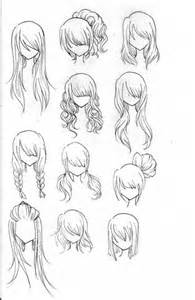 Galerry hairstyle anime girl