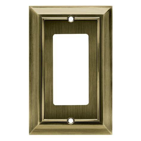 hampton bay architectural decorative single rocker switch