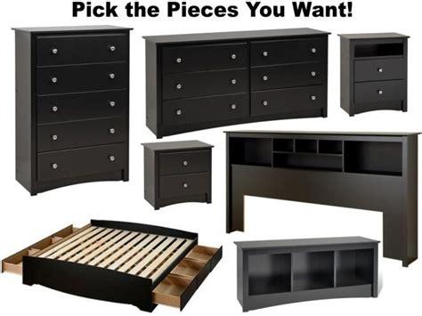 black bedroom furniture sets dresser drawer nightstand