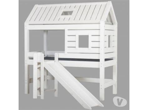 lit cabane avec toboggan occasion