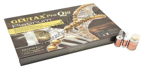 Glutax Platinum Collagen zone glutax pro q10 platinum