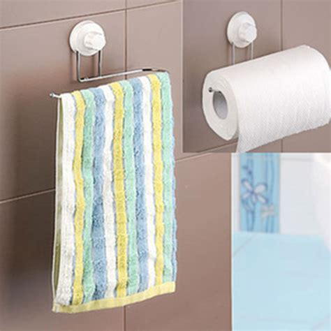 bathroom towel and toilet paper holders brand new towel holder sucker towel rack kitchen tissue