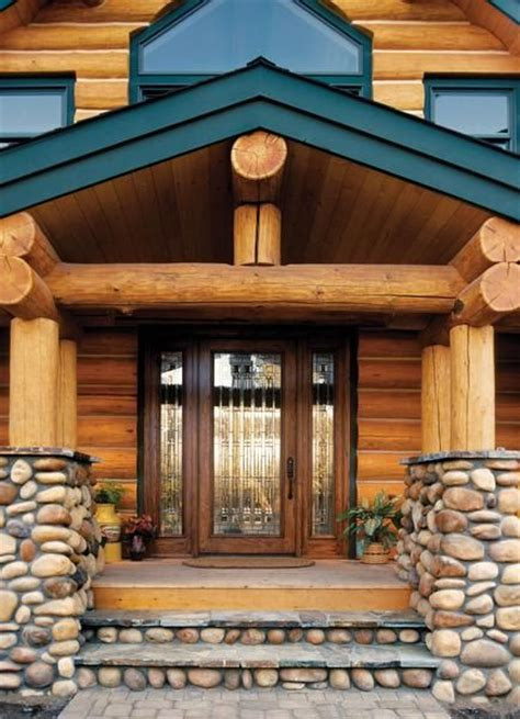 Log Home Exterior Doors Pin By Rustic Cabin Cottage Or Lodge Ideas On Exterior Of Rustic Cab