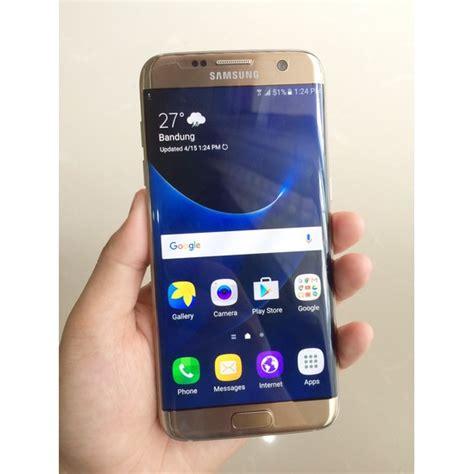 Samsung S7 Second Bekas samsung galaxy s7 edge single sim second like new free