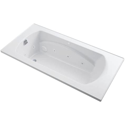 6ft bathtubs sterling lawson 6 ft whirlpool tub with reversible drain