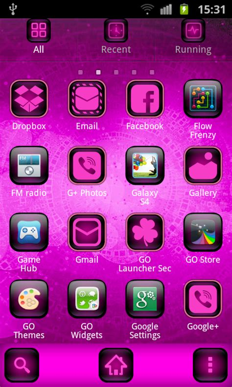 themes download my phone cyanogen pink theme free android app android freeware