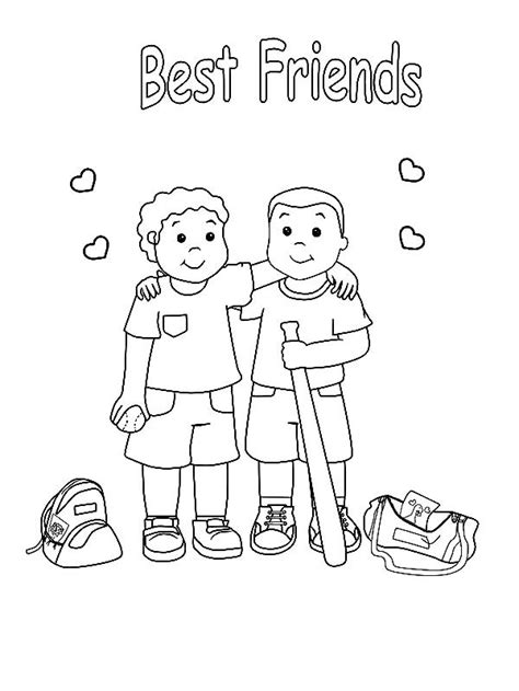 coloring pages with friends friendship coloring pages best coloring pages for kids