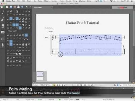 tutorial guitar pro 6 guitar pro 6 tutorial the basics youtube