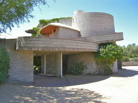 frank lloyd wright house in faces bulldozers the