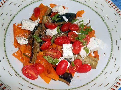 recette d insalata di melanzane e peperoni salade d