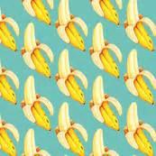 banana fabric wallpaper banana fabric wallpaper gift wrap spoonflower