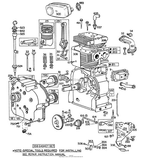 parts diagram for briggs stratton engine briggs and stratton 22 hp engine diagram 5 5 hp briggs