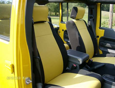 2007 jeep wrangler x seat covers all things jeep jeep wrangler 2007 unlimited 4 door