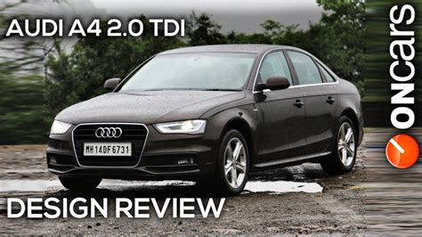 Audi A4 2013 Facelift by 2013 Audi A4 2 0 Tdi B8 Facelift Design Review By