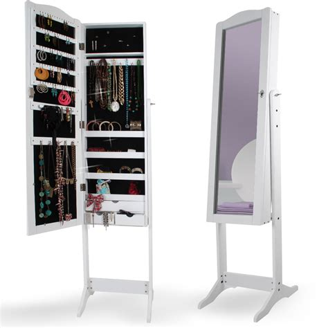 jewelry box mirrored armoire jewelry armoire mirror cabinet standing mirror jewelry box