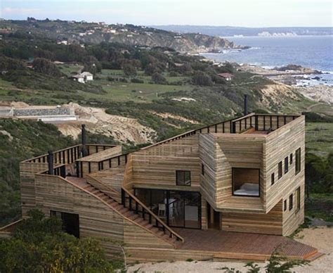 wooden houses designs creative contemporary all wood hillside home design