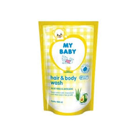 jual my baby hair and wash 400ml prosehat