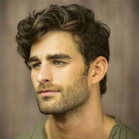 hairstyles for boys with thick wavy hair 50 smooth wavy hairstyles for men men hairstyles world